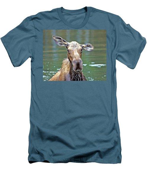 Close Wet Moose Men's T-Shirt (Athletic Fit)