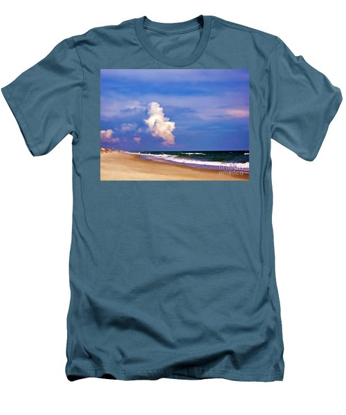 Men's T-Shirt (Slim Fit) featuring the photograph Cloud Approaching by Roberta Byram
