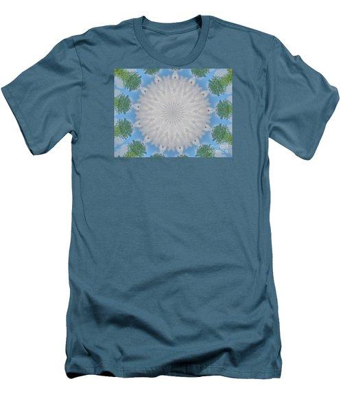 Cloud Medallion Men's T-Shirt (Slim Fit) by Shirley Moravec