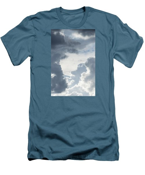 Cloud Painting Men's T-Shirt (Athletic Fit)