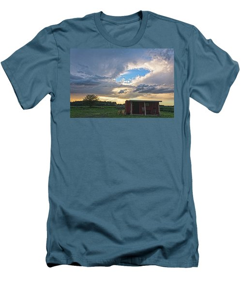 Cloud Portal Men's T-Shirt (Athletic Fit)