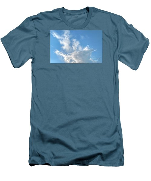 Cloud Wisps Too Men's T-Shirt (Slim Fit) by Audrey Van Tassell
