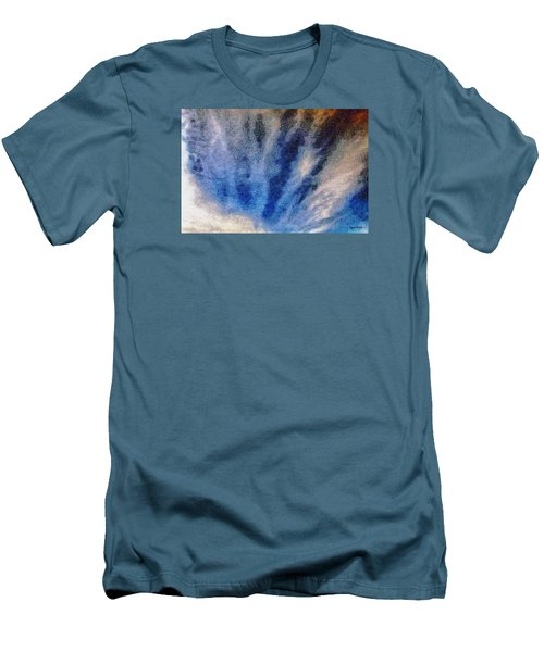 Men's T-Shirt (Slim Fit) featuring the photograph Clouds 12 by Spyder Webb