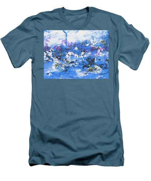 Clouds And Blossom Men's T-Shirt (Athletic Fit)