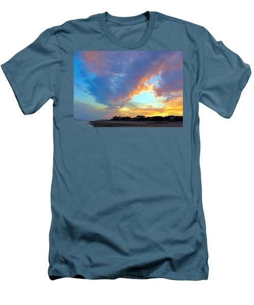 Clouds At Sunset Men's T-Shirt (Slim Fit) by Betty Buller Whitehead