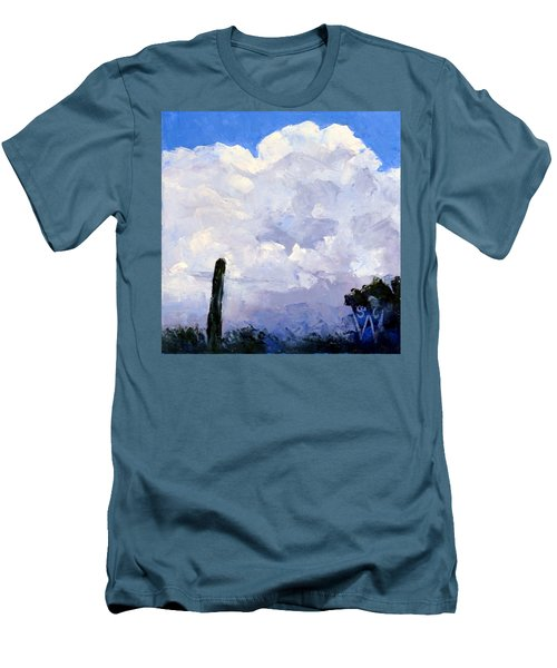 Clouds Building Men's T-Shirt (Athletic Fit)