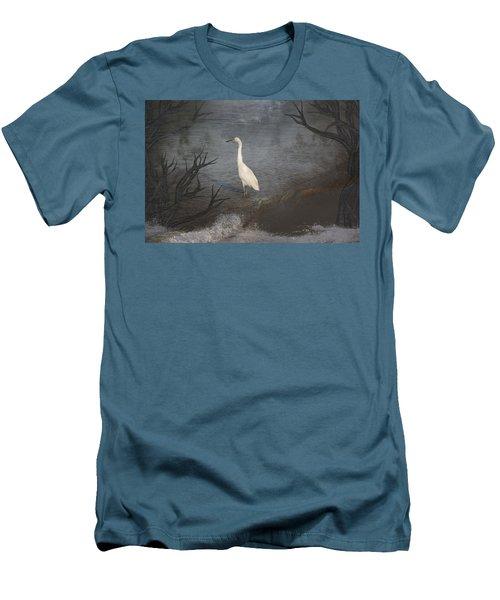 Coastal Birds Men's T-Shirt (Athletic Fit)
