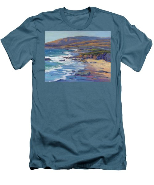 Coastal Cruising 8, San Simeon Men's T-Shirt (Athletic Fit)