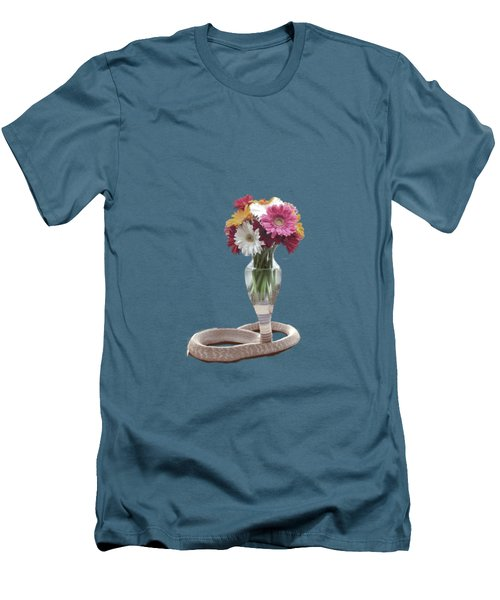 Cobra Vase Men's T-Shirt (Slim Fit) by Keshava Shukla