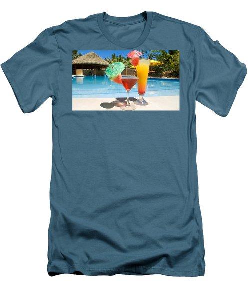 Cocktail Men's T-Shirt (Athletic Fit)