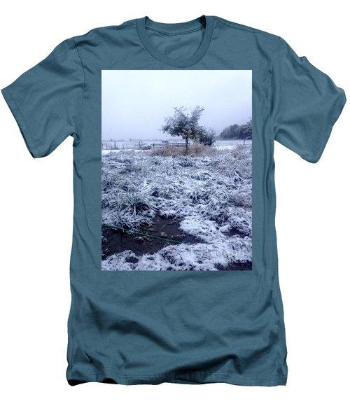 Cold Blue Men's T-Shirt (Athletic Fit)
