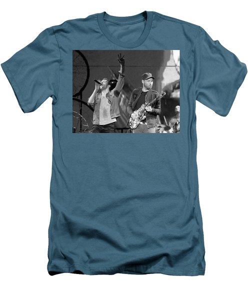 Coldplay 14 Men's T-Shirt (Slim Fit) by Rafa Rivas