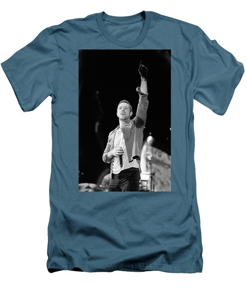Coldplay 16 Men's T-Shirt (Slim Fit) by Rafa Rivas