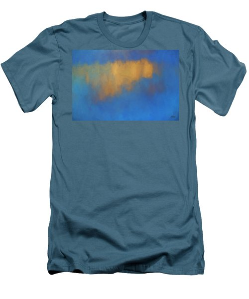 Color Abstraction Lvi Men's T-Shirt (Slim Fit) by David Gordon