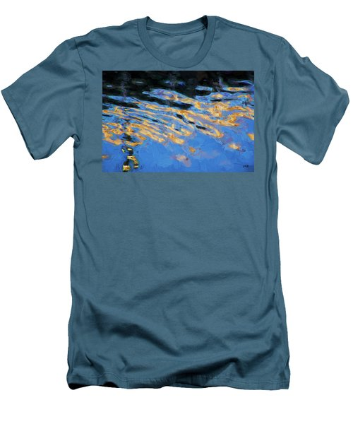 Men's T-Shirt (Slim Fit) featuring the photograph Color Abstraction Lxiv by David Gordon