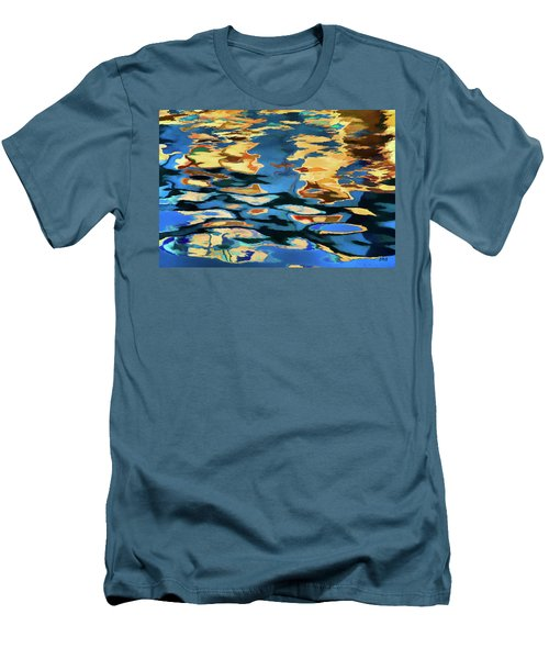 Men's T-Shirt (Slim Fit) featuring the photograph Color Abstraction Lxix by David Gordon