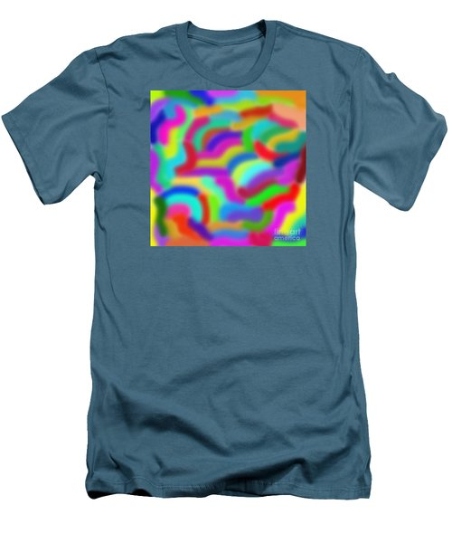 Color Around Men's T-Shirt (Athletic Fit)