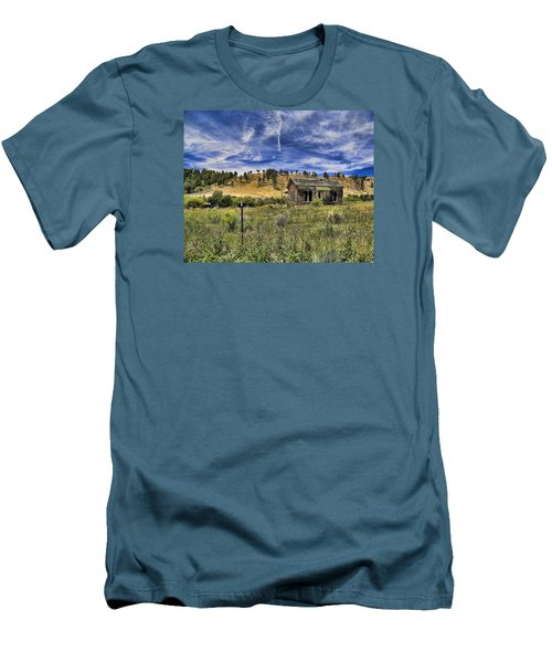 Colorado Homestead Men's T-Shirt (Slim Fit) by John Bushnell
