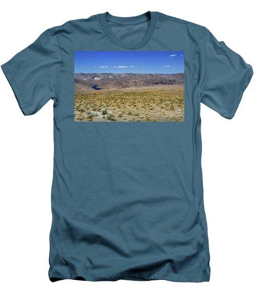 Colorado River In Arizona Men's T-Shirt (Slim Fit) by RicardMN Photography