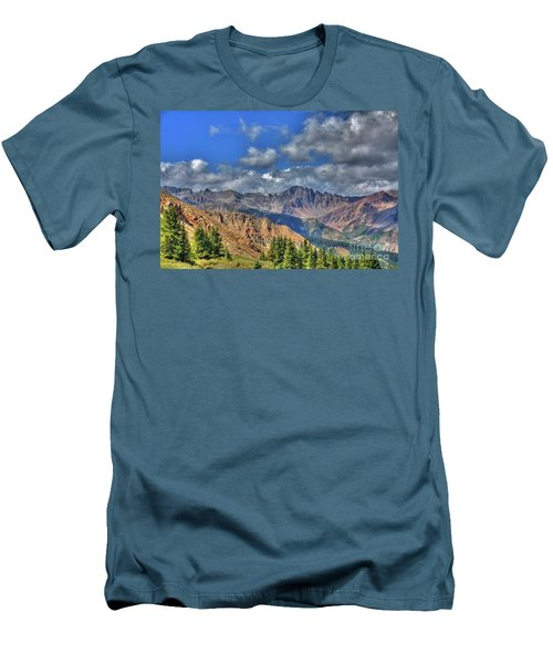 Colorado Rocky Mountains Men's T-Shirt (Athletic Fit)
