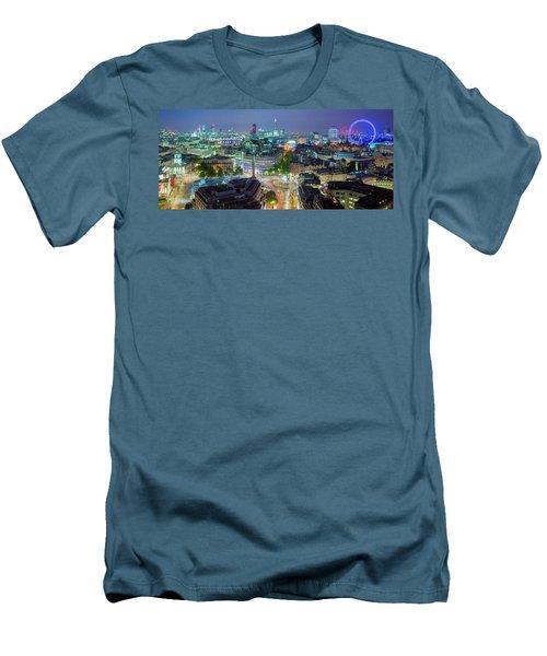 Colourful London Men's T-Shirt (Athletic Fit)