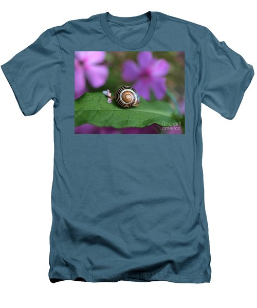 Come Out Of Your Shell Men's T-Shirt (Slim Fit) by Susan Dimitrakopoulos