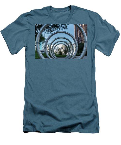 Commuter's Circle Men's T-Shirt (Athletic Fit)