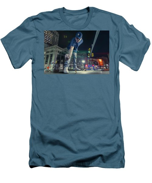 Men's T-Shirt (Slim Fit) featuring the photograph Coney Anyone? by Nicholas Grunas