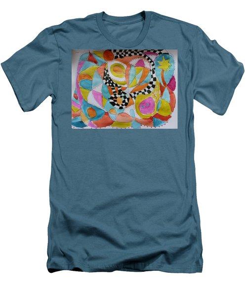 Conversation Men's T-Shirt (Athletic Fit)