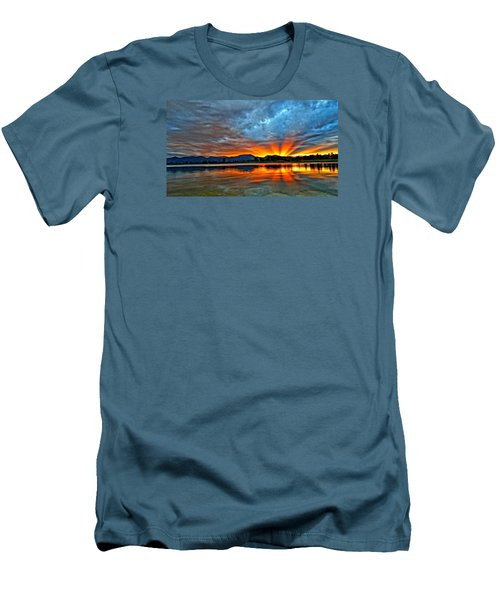 Men's T-Shirt (Slim Fit) featuring the photograph Cool Nightfall by Eric Dee