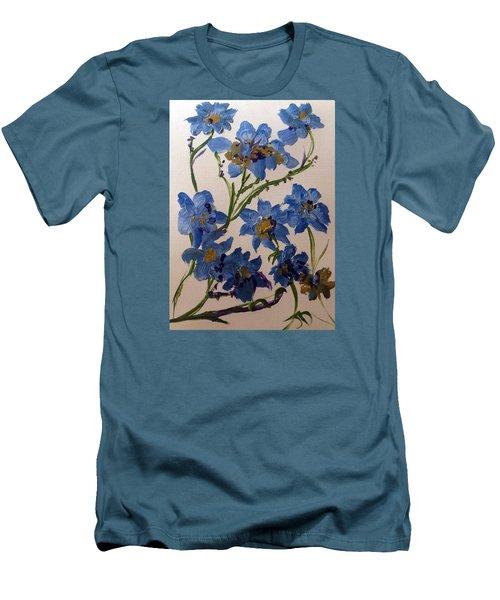Cornflowers Cousins Men's T-Shirt (Athletic Fit)