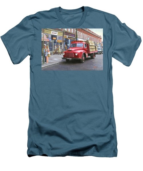 Corona Drinks Lorry. Men's T-Shirt (Athletic Fit)