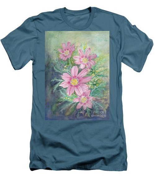 Cosmos - Painting Men's T-Shirt (Athletic Fit)