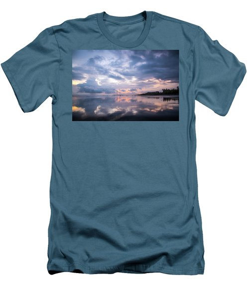 Men's T-Shirt (Athletic Fit) featuring the photograph Costa Rican Sunset by David Morefield