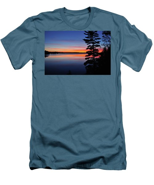 Cottage Sunset Men's T-Shirt (Slim Fit) by Keith Armstrong