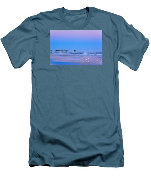 Cotton Candy Sunset Men's T-Shirt (Athletic Fit)