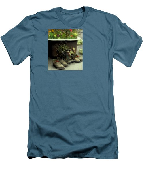 Men's T-Shirt (Slim Fit) featuring the photograph Country Day Spa by Kandy Hurley