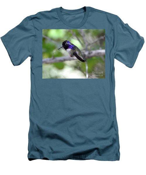 Coy Costa's Hummingbird Men's T-Shirt (Athletic Fit)
