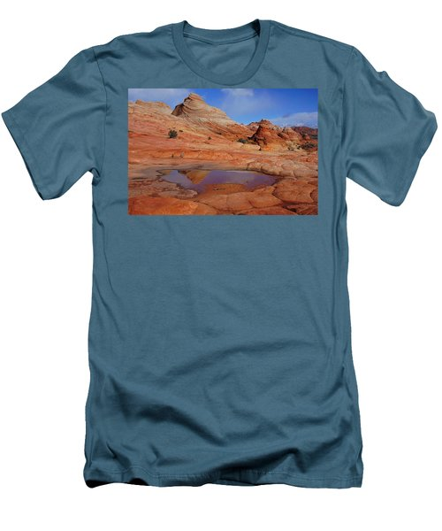 Coyote Butte Reflection Men's T-Shirt (Athletic Fit)
