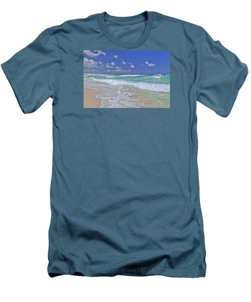 Cozumel Paradise Men's T-Shirt (Slim Fit) by Chad Dutson