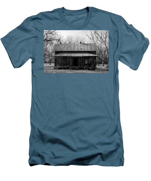 Cracker Cabin Men's T-Shirt (Slim Fit) by David Lee Thompson