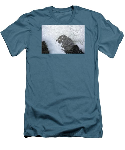Crashing Wave Men's T-Shirt (Slim Fit) by Kenneth Albin