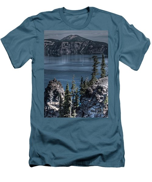 Crater Lake 4 Men's T-Shirt (Athletic Fit)