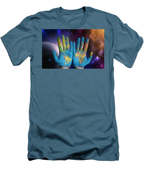 Created By God's Own Hands Men's T-Shirt (Athletic Fit)