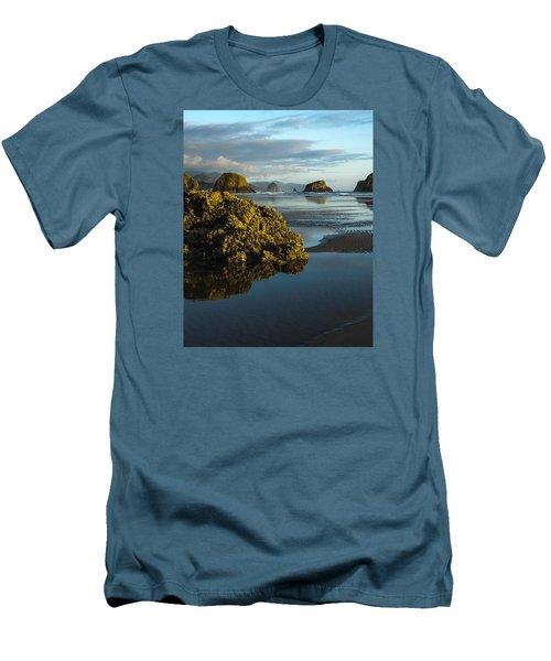 Crescent Beach Men's T-Shirt (Athletic Fit)