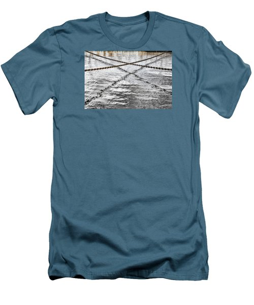 Men's T-Shirt (Slim Fit) featuring the photograph Criss-crossed by Edgar Laureano