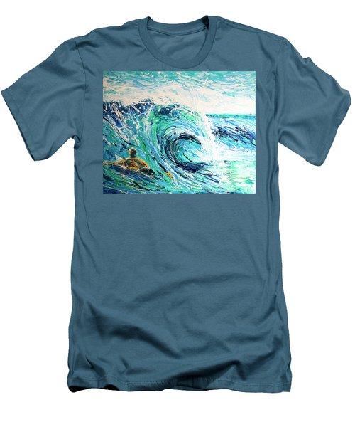 Crossing The Sandbar Men's T-Shirt (Athletic Fit)