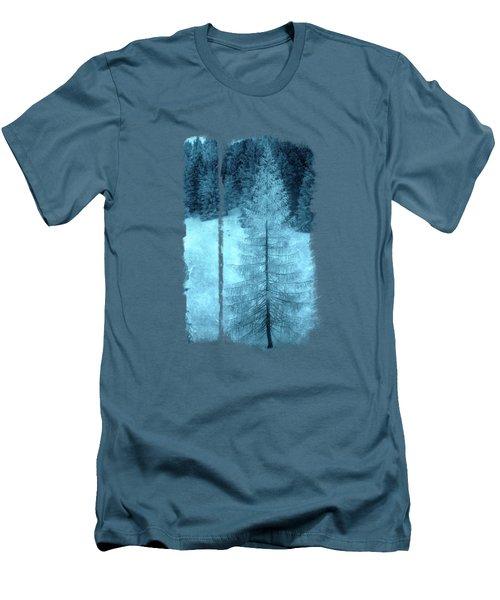 Crystal Larch Men's T-Shirt (Slim Fit) by AugenWerk Susann Serfezi