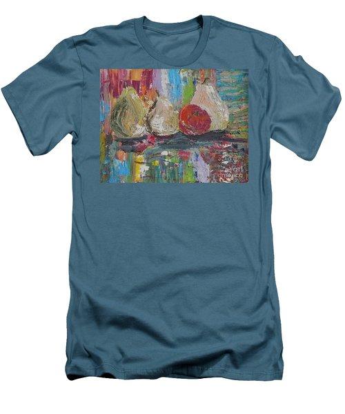 Cuatro Men's T-Shirt (Slim Fit) by Judith Espinoza