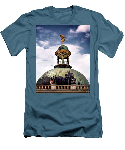 Cupola At Sans Souci Men's T-Shirt (Athletic Fit)